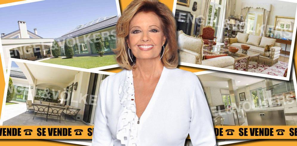 Teresa Campos le hace el trabajo a su inmobiliaria para vender su mansión