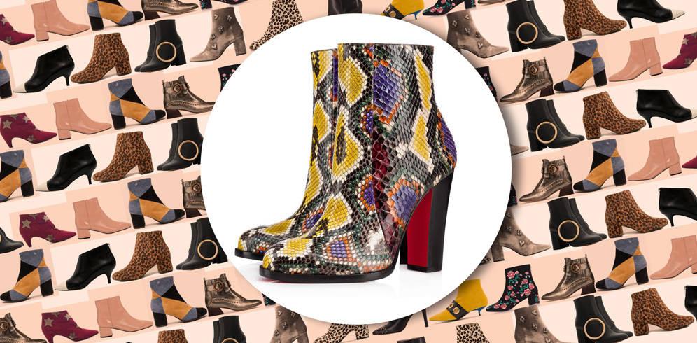 Cubre tus pies (y algo más):estos son los 20 botines de moda